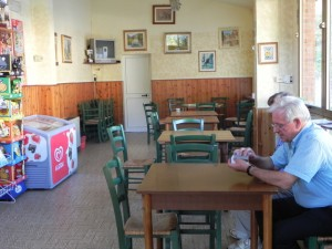 L'interno del bar