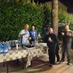Il Rione Blu serve la cena