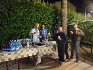 Il Rione Blu serve la cena