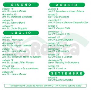 Programma estate 2014